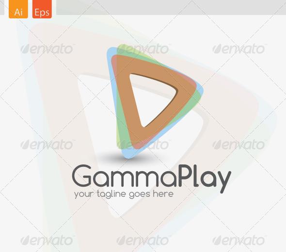 GammaPlay Logo Template - Abstract Logo Templates