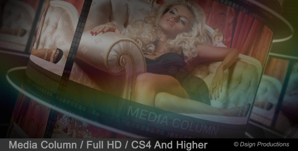 After Effects Project - VideoHive Media Column 3234801