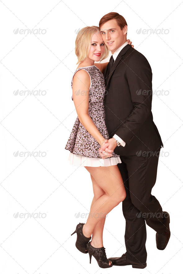 Dancing couple - Stock Photo - Images