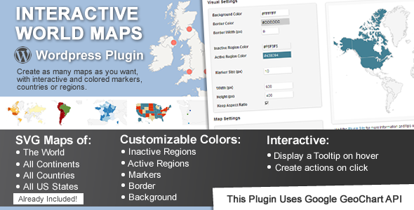 CodeCanyon Interactive World Maps 2874264