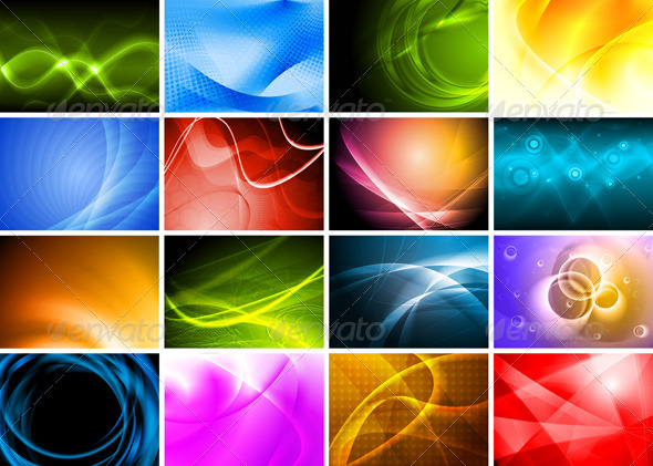 Beautiful bright backdrops - Backgrounds Decorative