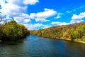 Autumn Fall River Landscape - PhotoDune Item for Sale