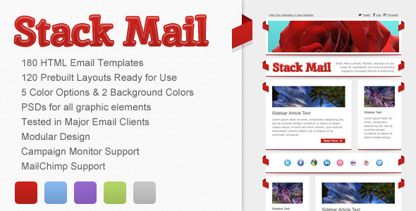 Stack Mail - Email Template