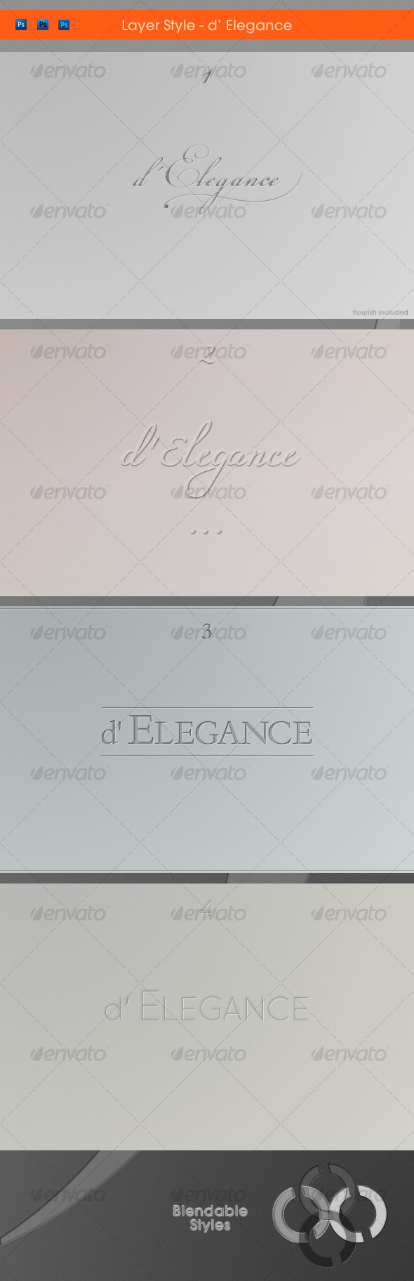 Typographica d' Elegance - Text Effects Styles