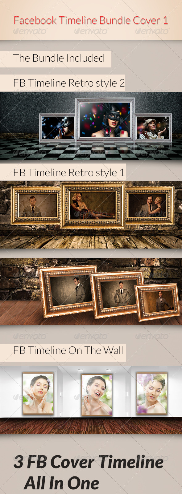FB Timeline Bundle Cover 1 - Facebook Timeline Covers Social Media
