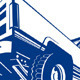 Pickup Truck Rear Retro