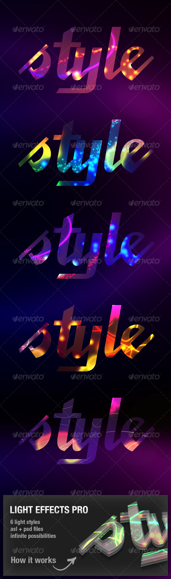Ligth Effects Pro - Text Effects Styles