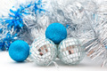 Christmas decorations: balls and garland - PhotoDune Item for Sale