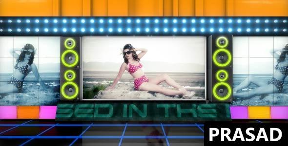 VideoHive Night Club Video Display 3211222