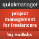 quickmanager - project & client manager - CodeCanyon Item for Sale