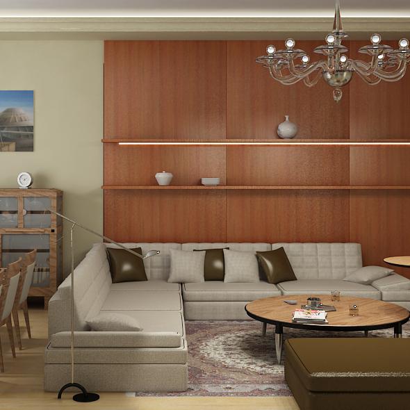 interior giorgetti - 3DOcean Item for Sale