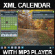 XML_Calendar_With_MP3Player - ActiveDen Item for Sale