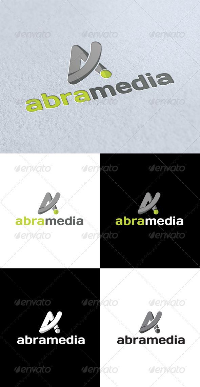 GraphicRiver Abra Media A Letter Logo 3234481