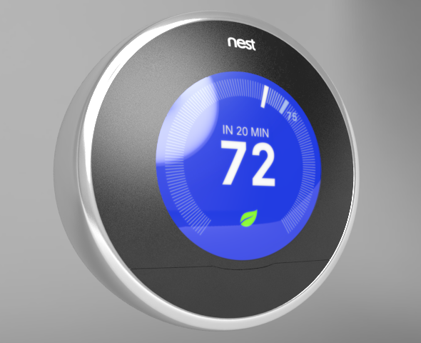 Nest Learning Thermostat - 3DOcean Item for Sale