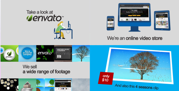 VideoHive Online Store Webshop Promotion 3242033