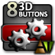 Eight 3D Buttons - ActiveDen Item for Sale