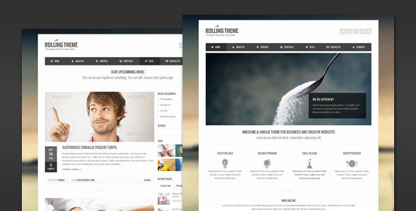 Rolling - Clean Business HTML Template