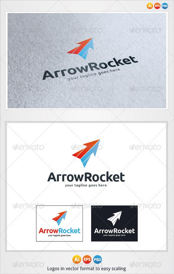 Arrow Rocket Logo