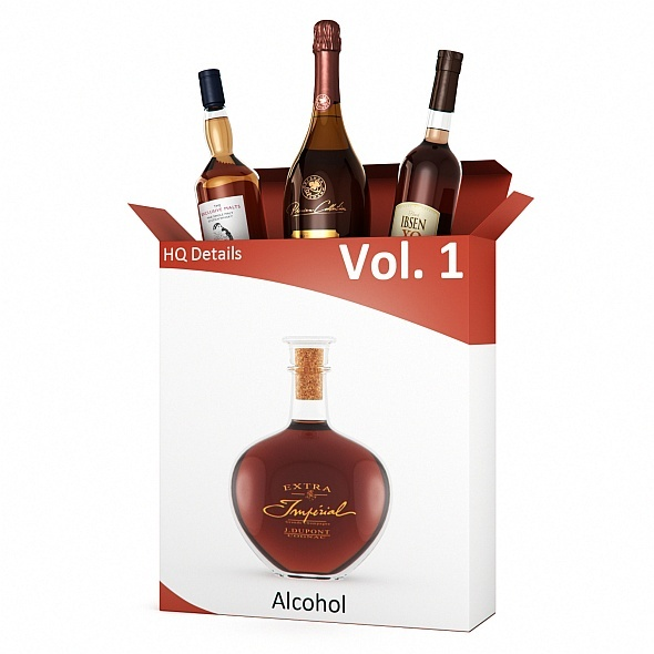 HQ Details - Vol.1 Alcohol - 3DOcean Item for Sale