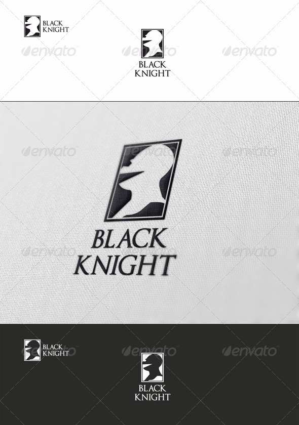 Black Knight Logo - Humans Logo Templates