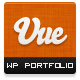 Vue - Portfolio & CV WordPress Theme