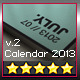 Calendar 2013 v2 // A4 Template // Pantone ® Style - GraphicRiver Item for Sale