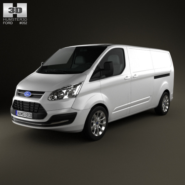 Ford Transit Custom LWB 2012 - 3DOcean Item for Sale