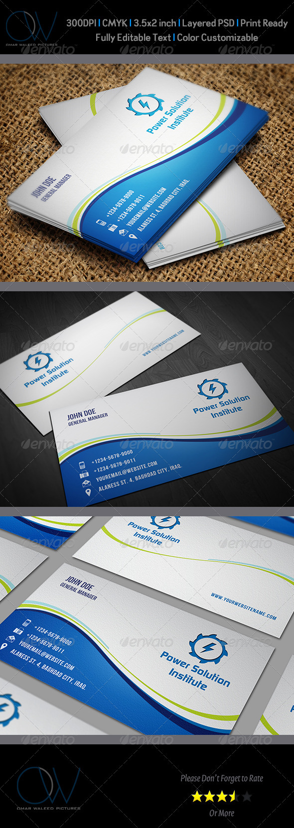 Classic Business Card Vol.4 - Corporate Business Cards