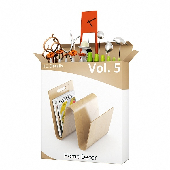 HQ Details - Vol.5 Home Decor - 3DOcean Item for Sale