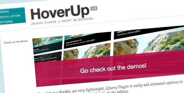 HoverUp - jQuery Plugin - CodeCanyon Item for Sale