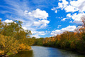Fall Autumn River Landscape - PhotoDune Item for Sale
