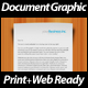 Dimensional Document Graphic - Print + Web - GraphicRiver Item for Sale
