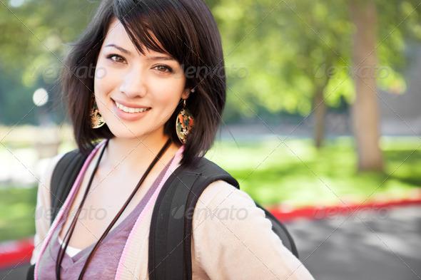 PhotoDune Mixed race college student 2048841