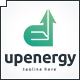 Up Energy Logo - GraphicRiver Item for Sale