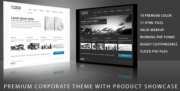 RT-Theme 11 / Business Theme with Product Showcase - Business Corporate