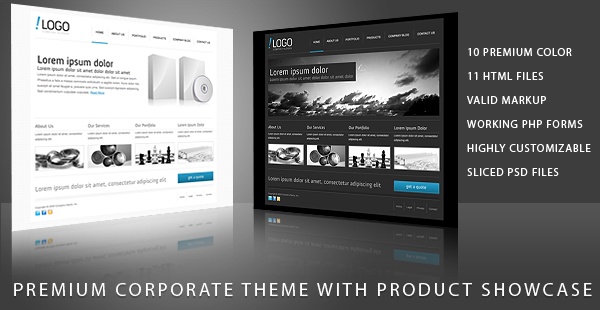 RT-Theme 11 / Business Theme with Product Showcase