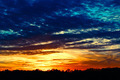 Blue Sky Sunset - PhotoDune Item for Sale