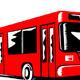 Shuttle Coach Bus Retro