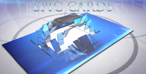 After Effects Project - VideoHive Epic Cards Presentation 336115