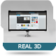 Real 3D LCD Monitor - GraphicRiver Item for Sale