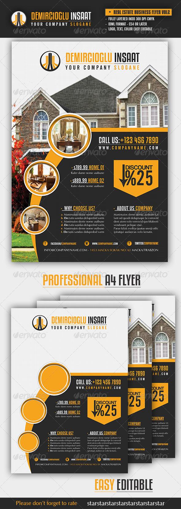Real Estate Business Flyer Vol2