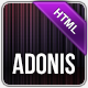 Adonis - Premium Responsive HTML5 Template - ThemeForest Item for Sale