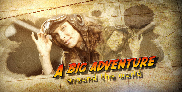 After Effects Project - VideoHive A Big Adventure 3249929