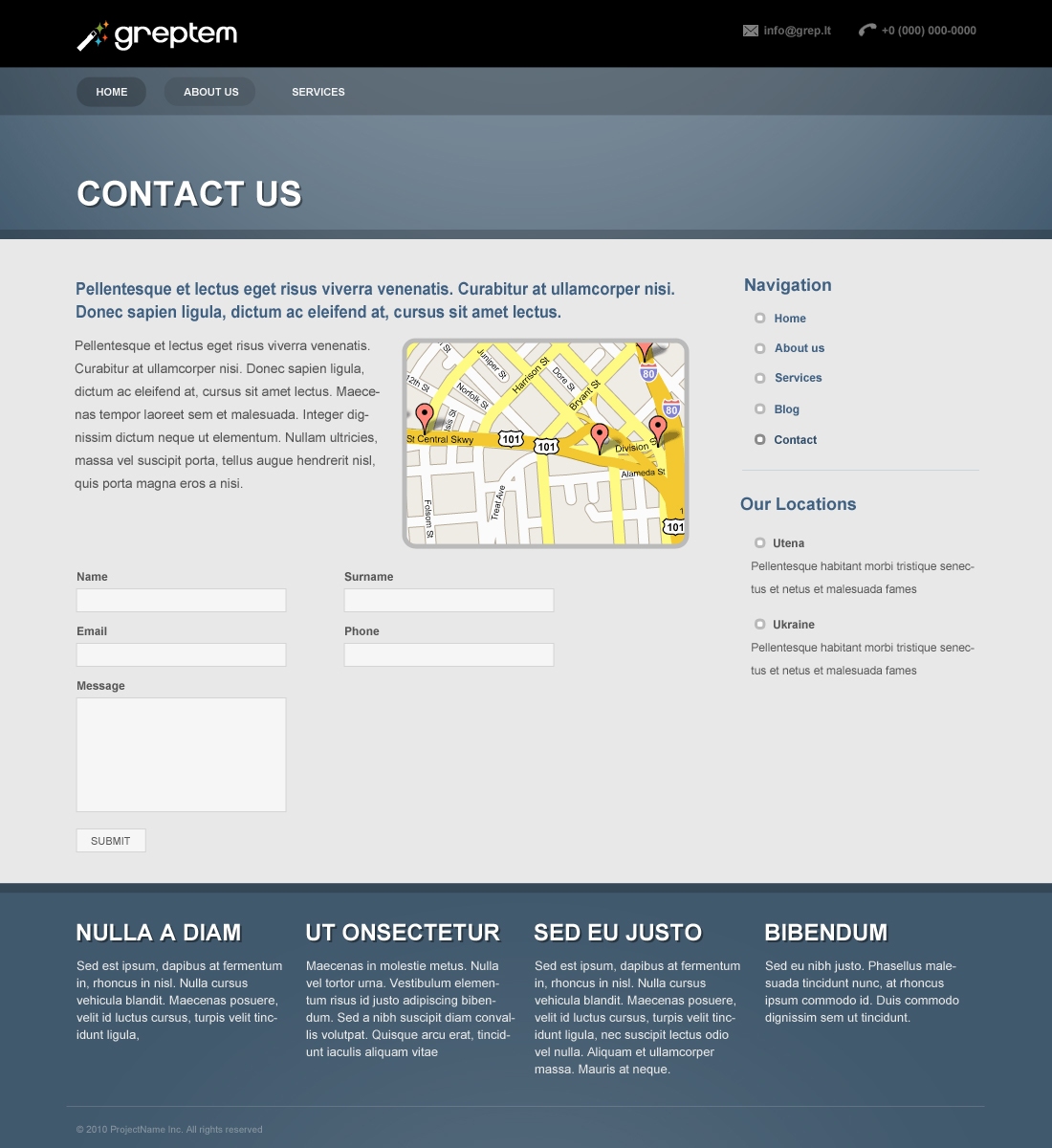 GReptem - Powerful Professional WordPress Theme