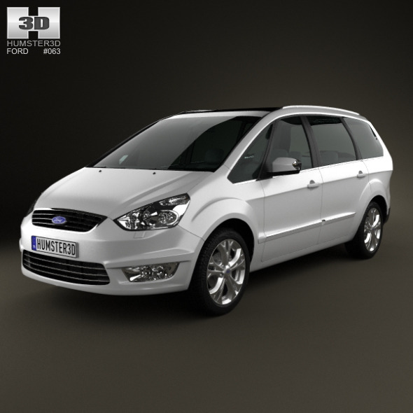 Ford Galaxy (Mk3) 2012 - 3DOcean Item for Sale