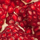 Red pomegranate fruit closeup detail background - PhotoDune Item for Sale