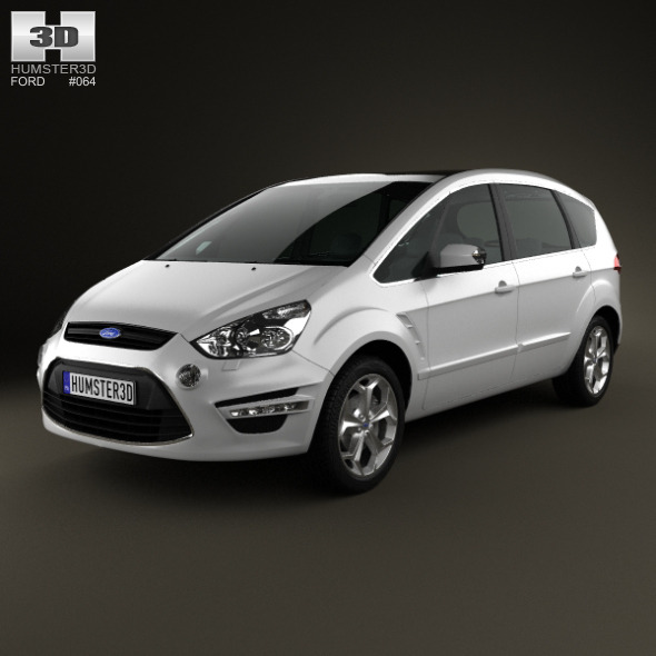 3DOcean Ford S-Max 2012 3251233