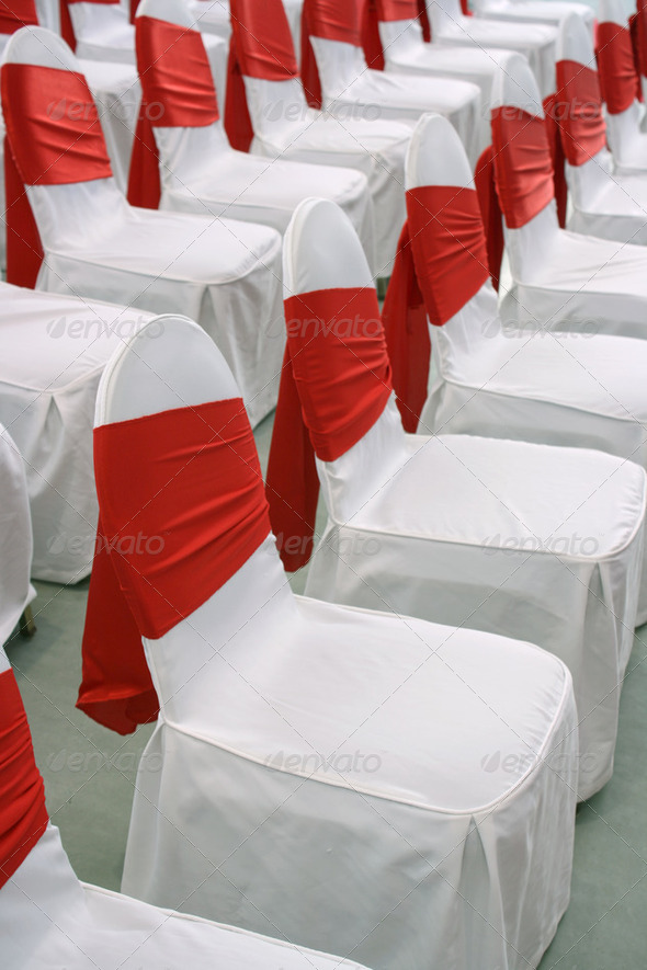 Decorated event chairs 02 - Stock Photo - Images
