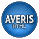 Averis Responsive Business HTML Template - ThemeForest Item for Sale