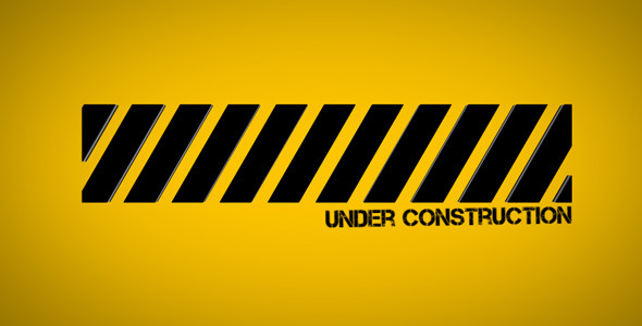 Under Construction by PauloGalvao | VideoHive Under Construction Logo